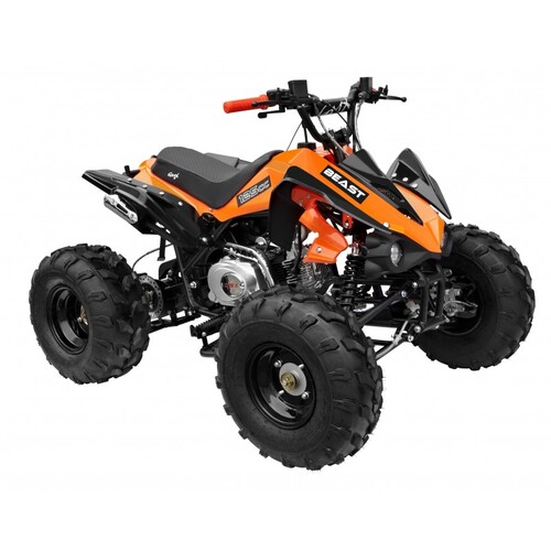 GMX 125cc The Beast Sports Quad Bike - Orange