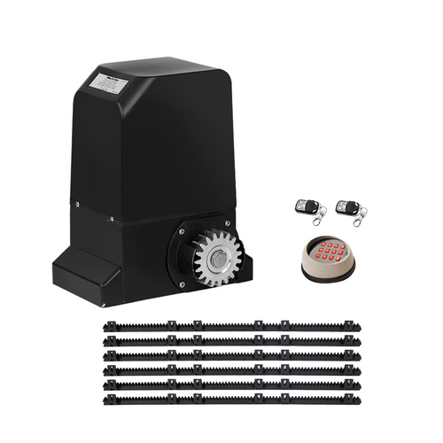 Auto Electric Sliding Gate Opener 1000KG Keypad 6M Rails