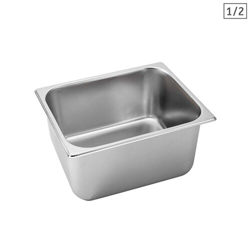 Gastronorm GN Pan Full Size 1/2 GN Pan 20cm Deep Stainless Steel Tray
