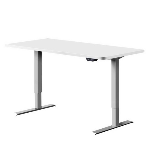 Artiss Standing Desk Height Adjustable Motorised Electric Sit Stand Computer Table 140cm