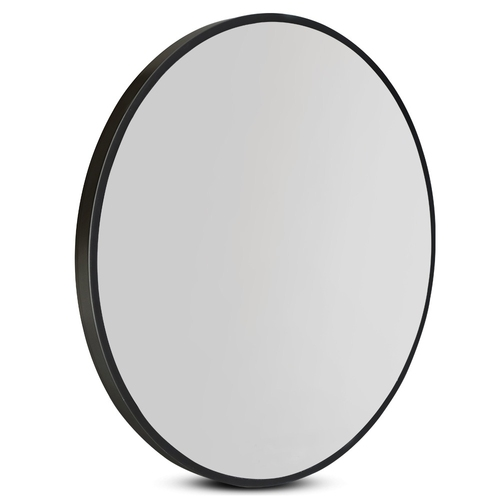 Embellir Round Wall Mirror 70cm Makeup Bathroom Mirror Frameless
