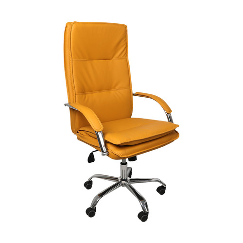Office Chair Gaming Chairs Racing Executive PU Leather Seat Executive Computer Ginger