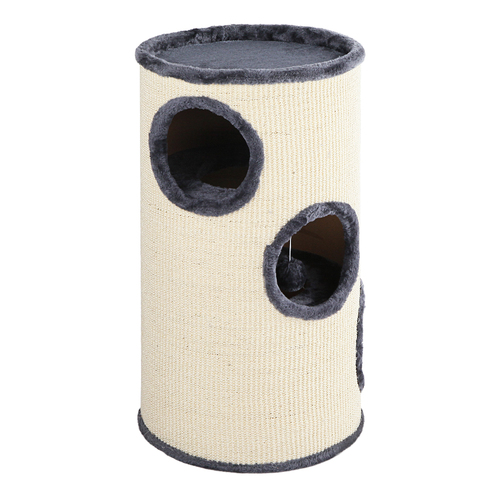 i.Pet 70cm Cat Scratching Post - Grey & White
