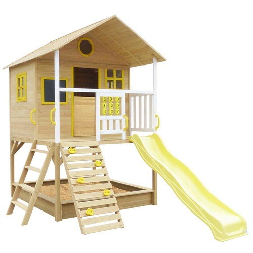 Warrigal Cubby House Yellow