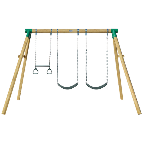 Wesley Double Swing & Trapeze Set