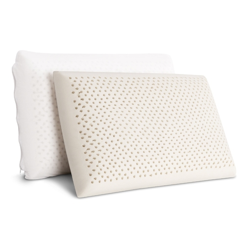 Set of 2 Natural Latex Pillow