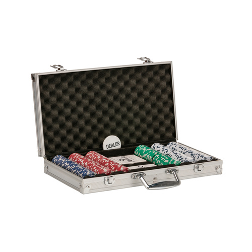 JENJO POKER SETS WITH PREMIUM PLASTIC PLAYING CARDS