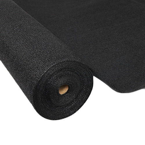 Instahut 3.66 x 10m Shade Sail Cloth - Black