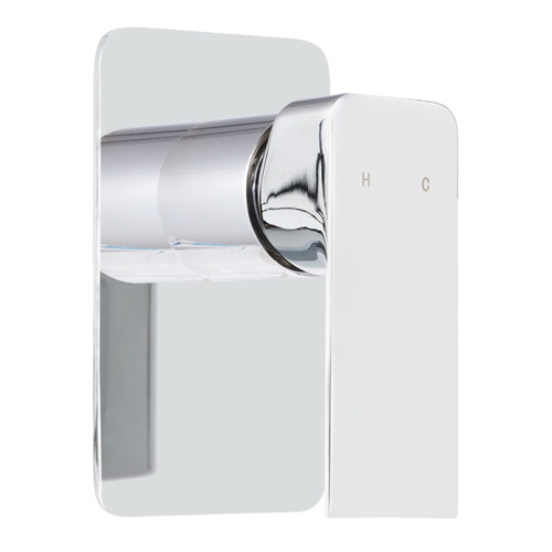 Brass Shower Mixer Head Hot and Cold Bathroom Tap Chrome