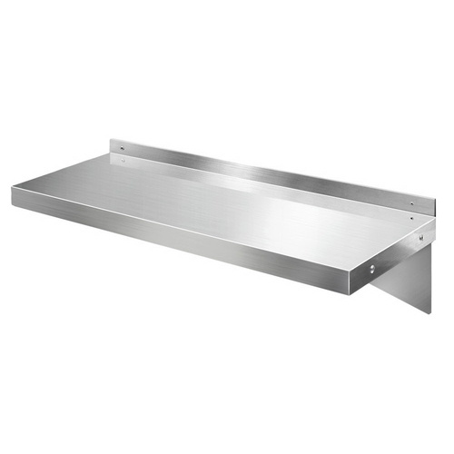 Stainless Steel Wall Shelf Kitchen Shelves Rack Mounted Display Shelving 900mm