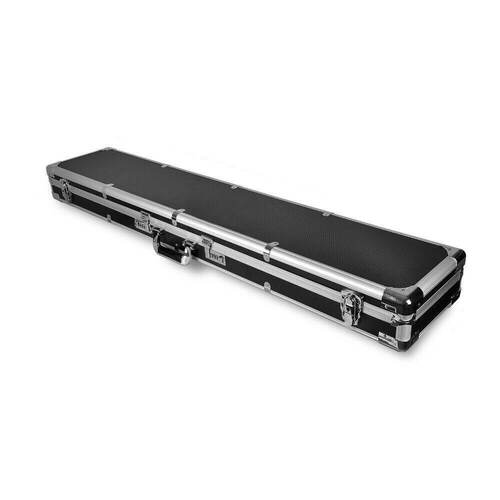 Portable Hard Aluminium Double Hunting Gun Cases Safe Bag Rifle Shot Carry Boxes