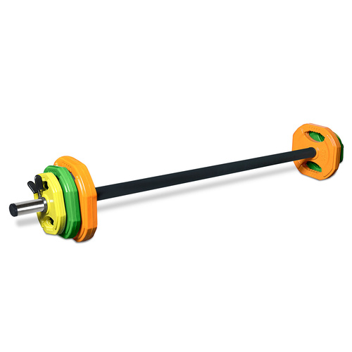 Studio Barbell Set with Weights