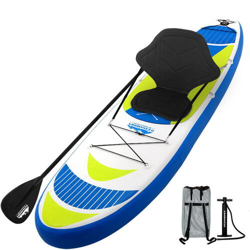 Weisshorn 11FT Stand Up Paddle Board Inflatable SUP Surfborads 15CM Thick