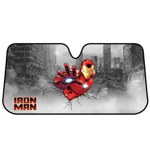 Marvel Avengers Sun Shade [150cm x 70cm] - IRON MAN