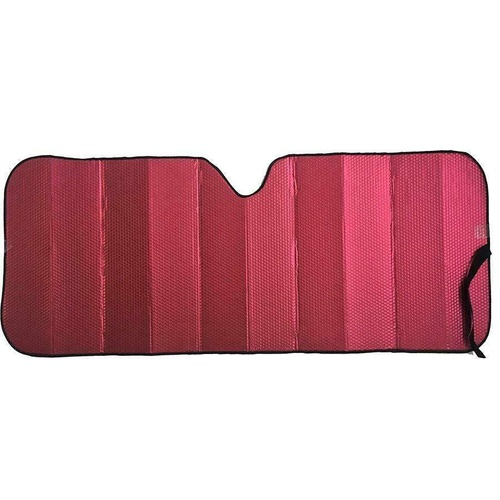 Premium Sun Shade [147cm x 68.5cm] - MATT RED