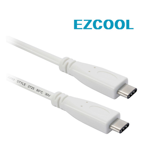 EZCool 1M Skymaster USB3.1 Cable Type C To Type C White