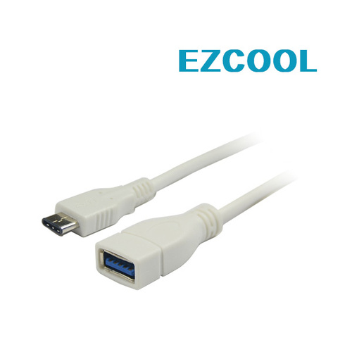 EZCool 0.2M Skymaster USB3.1 Cable Type C To USB3.0 AF White