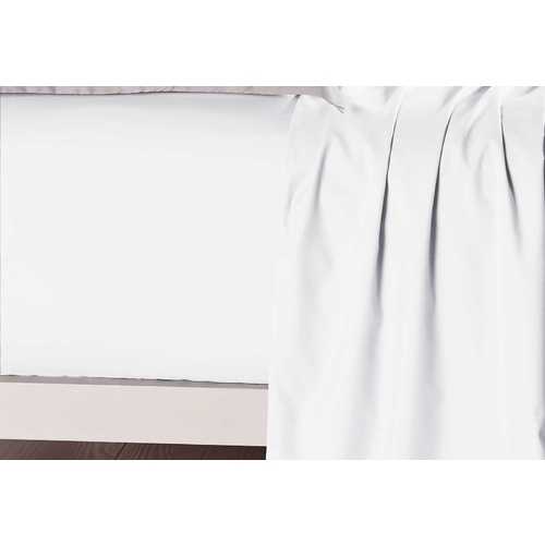 Single Size White Color Fitted Sheet