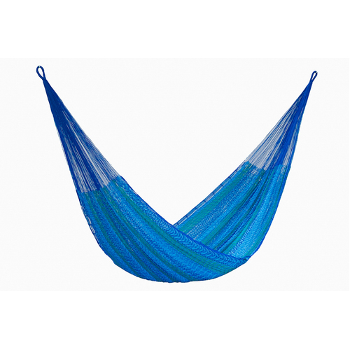 Jumbo Size Nylon Plus Hammock in Caribe