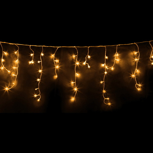 500 LED Solar Powered Christmas Lights 20M Warm White