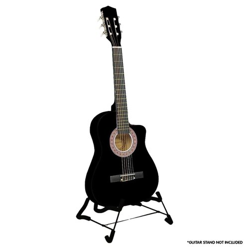 Karrera Childrens Acoustic Guitar - Black