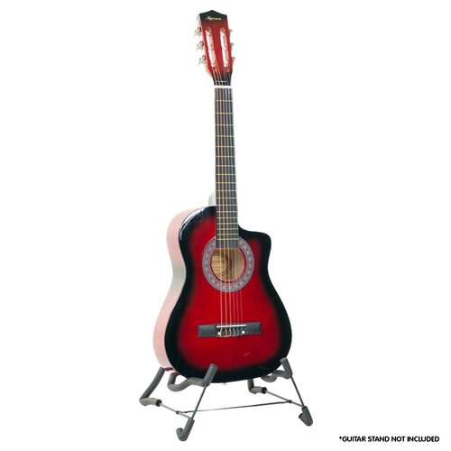 Karrera Childrens Acoustic Guitar - Red