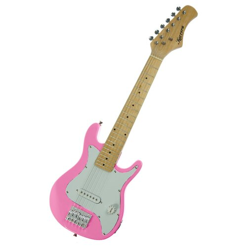 Electric children's guitar Pink