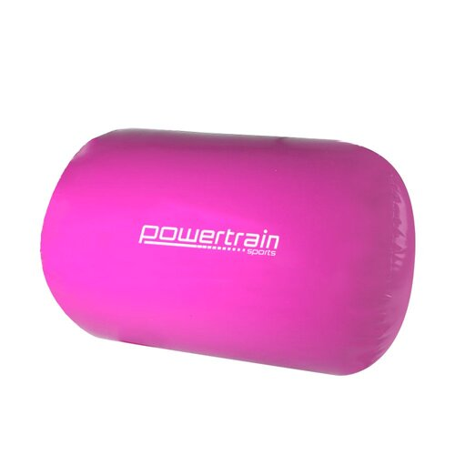 Inflatable Air Exercise Roller Gymnastics Gym Barrel 120 x 75cm Pink